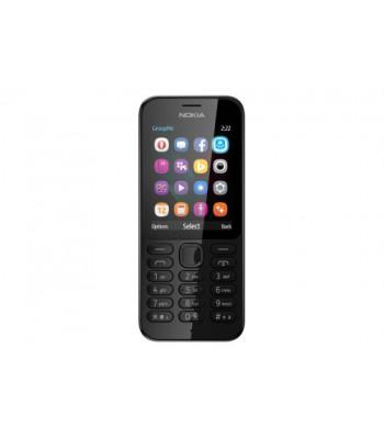 Мобилен телефон NOKIA 222 Dual SIM Black