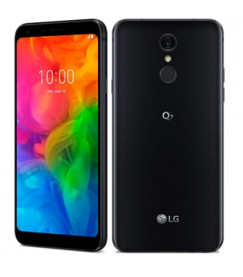 Смартфон LG Q7 BLACK Dual SIM