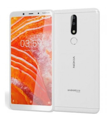 Смартфон NOKIA 3.1 PLUS Dual SIM WHITE