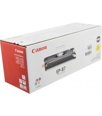 Консуматив Canon EP-87 YELLOW TONER CARTRIDGE 3a Лазерен Принтер