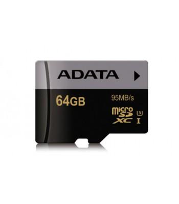 Флаш карта ADATA 64G SDXCM UHS-I U3 Class10