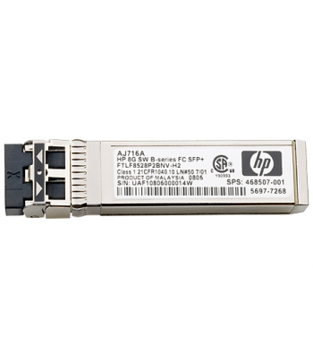 HP B-series 16Gb SFP+ Short Wave Transceiver