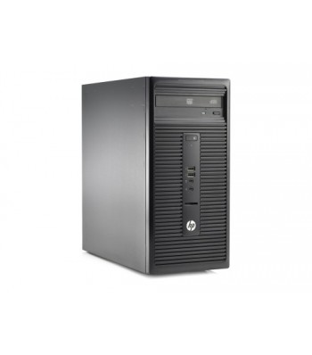 "Десктоп компютър HP 280 G1 Microtower Business PC G3250, 4GB, 500GB, HP V197 47 cm (18.5"") Monitor"