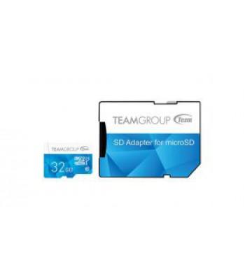 Флаш карта TEAM 32GB SDMICRO+ADAP CL10