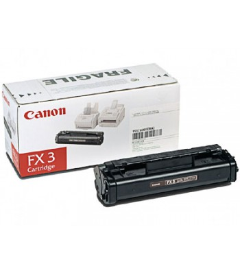 Консуматив Canon FX-3 Black Toner Cartridge