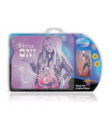 Мишка Disney Twin Pack Hannah Montana: Optical Mouse + Mouse Pad DSY-TP5001