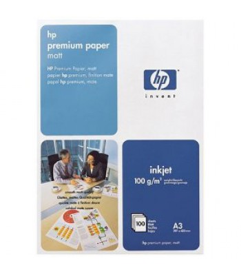 Консуматив HP Premium Paper 100 g/m²-A3/297 x 420 mm/100 sht