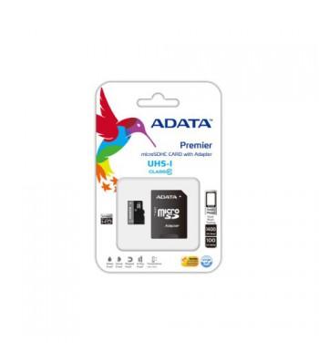 Флаш карта ADATA 8G, microSDHC/SDXC, UHS-I U1 Class10, Adapter