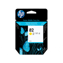 Консуматив HP 82 28-ml Yellow Ink Cartridge EXP